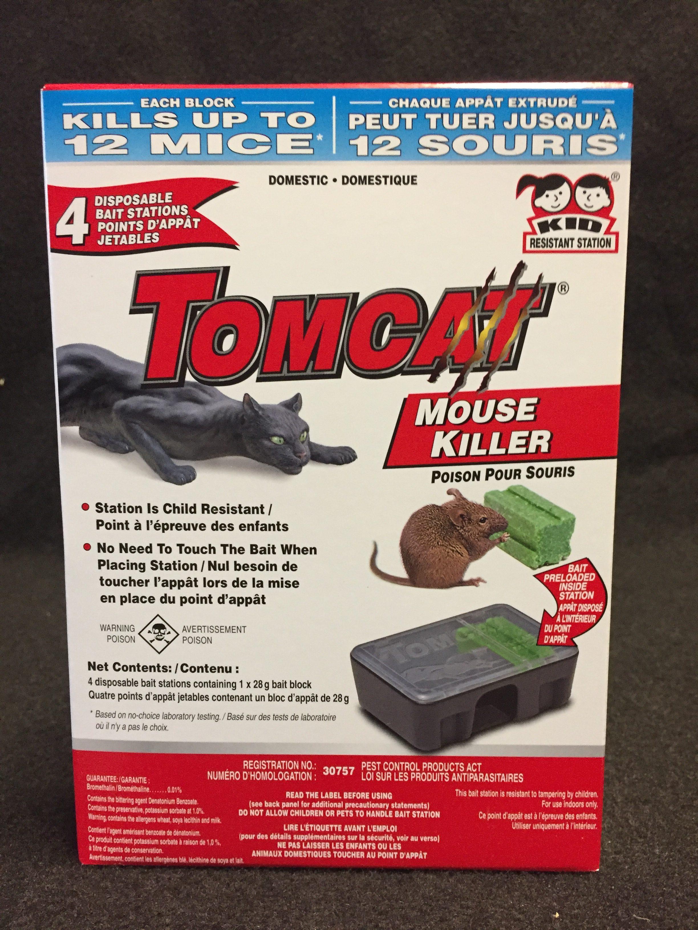 tomcat point d app t jetable de poison pour souris. Black Bedroom Furniture Sets. Home Design Ideas