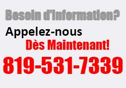 Besoin d'information 819-531-7339